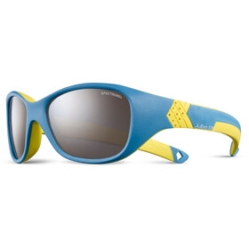Julbo Solan Spectron 3+ Aurinkolasit 4-6Y Lapset, blue/yellow-gray flash silver
